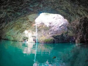 Blue Hole Mineral Spring, Brighton District, Jamaica