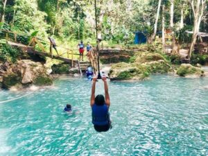 Blue Hole & River Rafting Ocho Rios