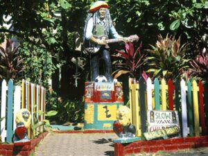 Bob Marley Museum , Kingston, Jamaica
