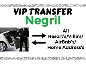 Round Trip VIP Transfer From Sangster International Airport Montego Bay to All Resort's/Villa's/AirBnb's/Home's in Negril, Westmoreland, Jamaica