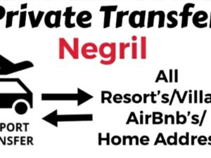 Round Trip Private Transfer From Sangster International Airport Montego Bay to All Resorts/Villas/AirBnb/Home in Negril, Westmoreland, Jamaica