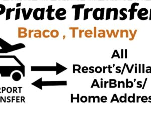 Round Trip Private Transfer From Sangster International Airport Montego Bay to All Resorts/Villas/AirBnb/Home in Braco, Trelawny, Jamaica